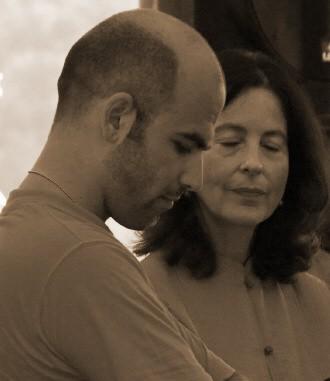 Con Roberto Saviano