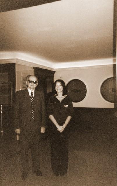 Con il Generale Jaruzelski