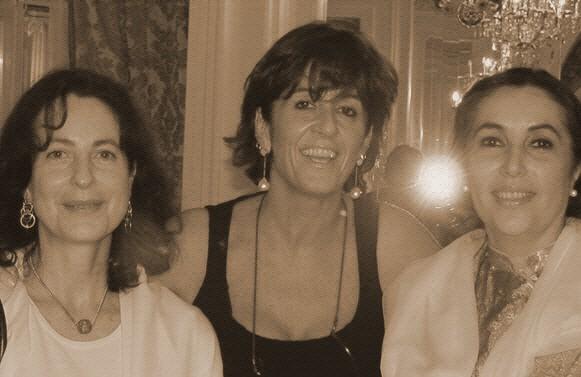 Con Benazir Bhutto e Daniela Vitta