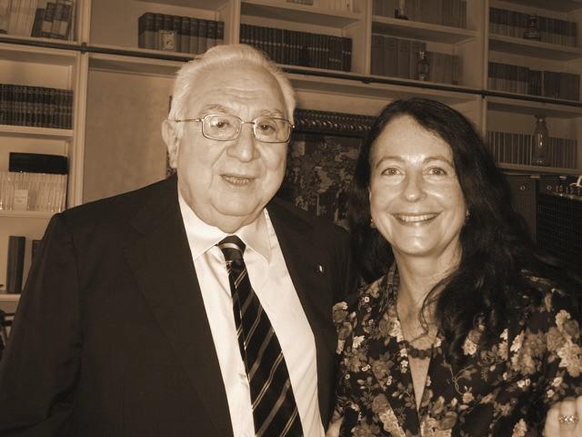 Con il Presidente Cossiga