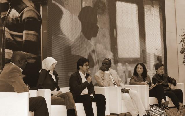 Conferenza Immigrazione con Idris, Valerija Brkljac e Lubna Ammoune