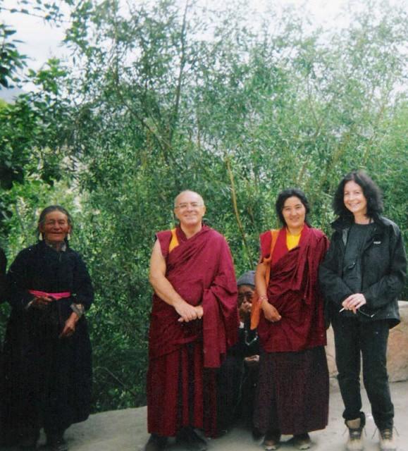 Con il Lama Paljin Tulku Rinpoce