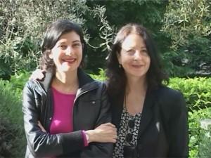 Foto: Faïza Abdul-Wahab with author Marina Gersony